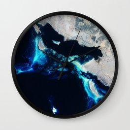 Sea Coastline Wall Clock