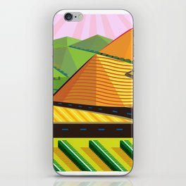 Valle de Guadelupe Wine Label iPhone Skin