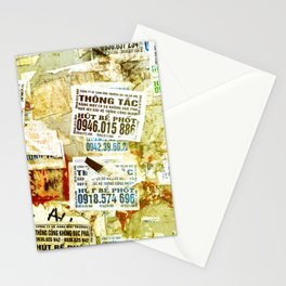 Viet flyers Stationery Cards