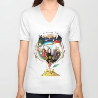 spirited away V-neck T-shirts featuring Spirited away by Willow