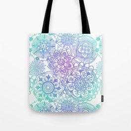 Pastel Mandala Pattern Tote Bag