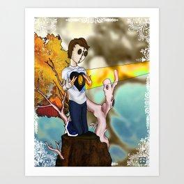Heartfelt .5 Art Print