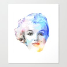 The Blond Bombshell Canvas Print