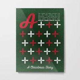 A Christmas Story - A+++++ Metal Print