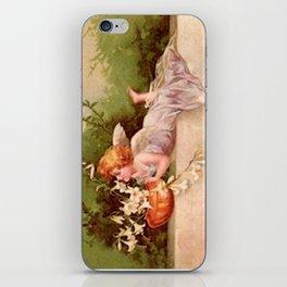 Vintage Garden Fairy iPhone Skin