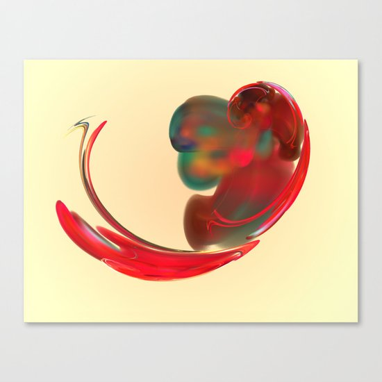 the red   (A7 B0131) Canvas Print