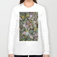 succulents Long Sleeve T-shirts featuring Succulents by Tiffany Tremaine (birdy)