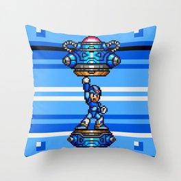 Rockman X Throw Pillow