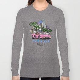 Miami, bedrock of diversity! Long Sleeve T-shirt