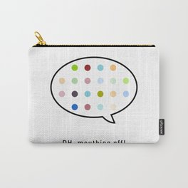 Damien Hirst, outspoken again! Carry-All Pouch