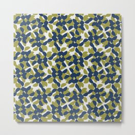 odrina (lime/navy) Metal Print