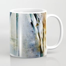 The Bars Within Abstract Metal Seascape Coffee Mug
