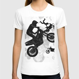 High Flying Stuntmen - Motocross Riders T-shirt