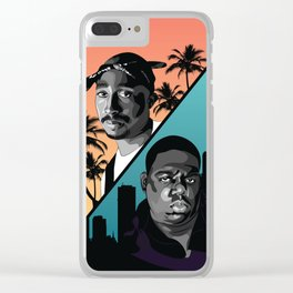 Rap Legends Clear iPhone Case