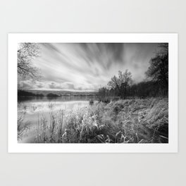 Blagdon Lake Art Print