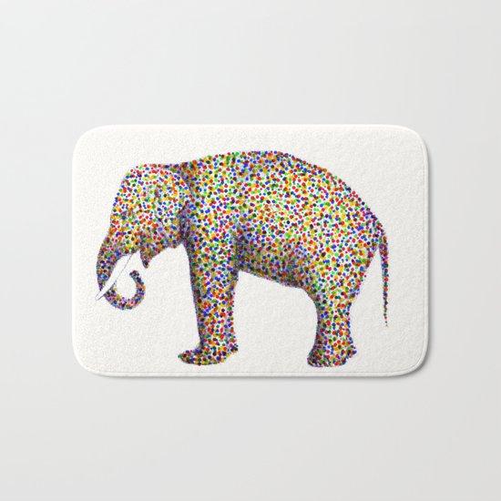 elephant color Bath Mat