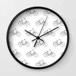 Minimalist bike Wall Clock