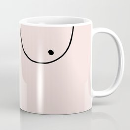 blush boobs Coffee Mug