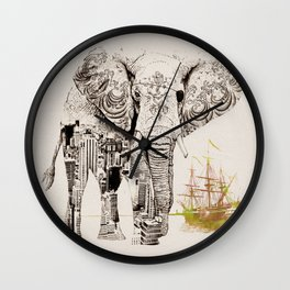 Tattoo Me Wall Clock