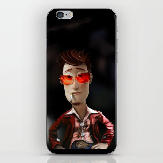 Hit me has hard has you can Buzz..!...(Fight Club) iPhone & iPod Skin