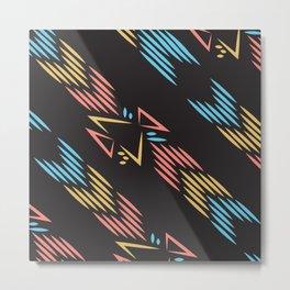American Native Pattern No. 190 Metal Print