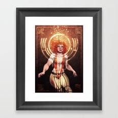 The Fifth Element: Leeloo Framed Art Print