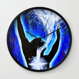 Holy Spirit Painting Wall Clock