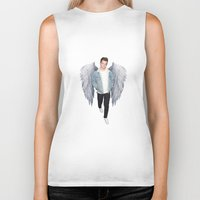 louis Biker Tanks featuring Louis by gutsngore