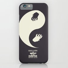 The Night of the Hunter - Minimal Poster (Robert Mitchum, Charles Laughton) classic Hollywood mo Slim Case iPhone 6s