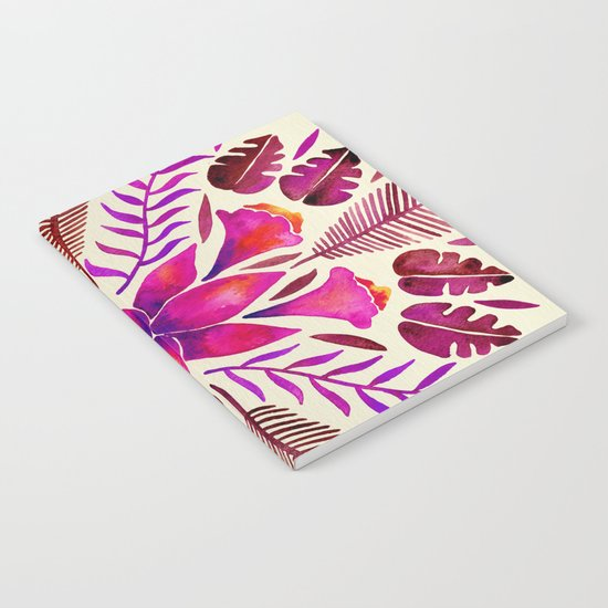 Tropical Symmetry – Magenta Notebook