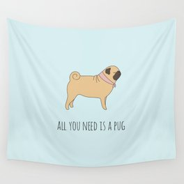 PUG Wall Tapestry