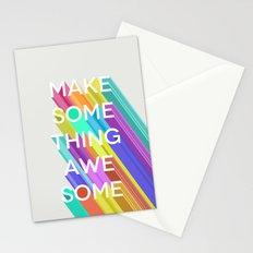 Make Something Awesome Stationery Cards