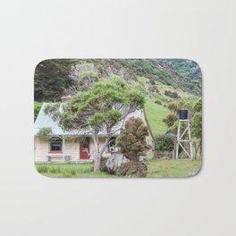 Cottage at Flea Bay, Akaroa, New Zealand Bath Mat