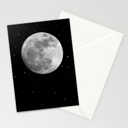 Moon and Stars Stationery Cards