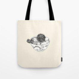 Chestnut Burr & Pottery Tote Bag