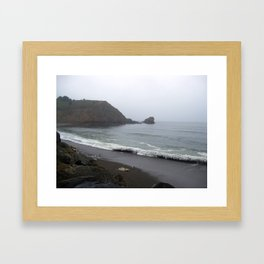California's Coastal Landscaping Framed Art Print