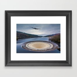 Dam Runner Framed Art Print
