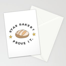 Star Baker? Prove It / Great British Baking Show Stationery Cards