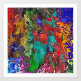 Abstract I<>X Art Print