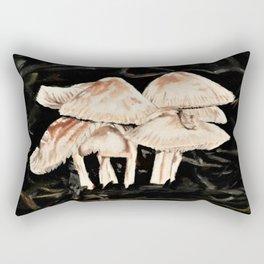 mushroom village Rectangular Pillow