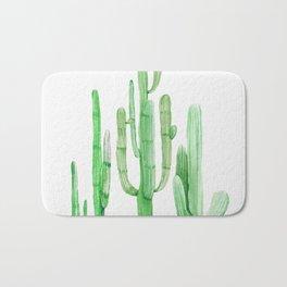 Three Amigos Cacti Green Bath Mat
