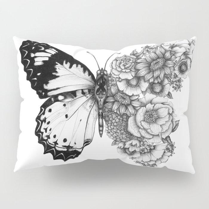 Butterfly in Bloom Pillow Sham