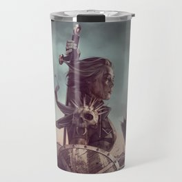 Warrior Battlefield Color Travel Mug