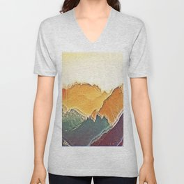 colour mountain Unisex V-Neck