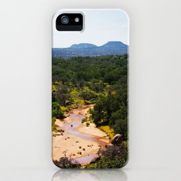 Volcano In The Distance iPhone Case