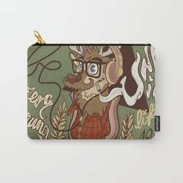 Oh my Deer (be unique and forever young like a 1960 radio) Carry-All Pouch