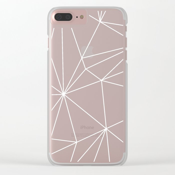 Simplicity 2 Clear iPhone Case