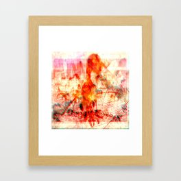 leggy boys Framed Art Print