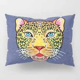 Roar / Retro Wild Cat Pillow Sham