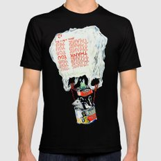 Great Escape Mens Fitted Tee SMALL Black